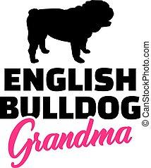 ブルドッグ, 英語, 祖母