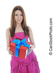 ブルネット, box., 贈り物