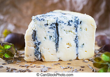 ブルーチーズ, 木, 板