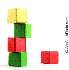 ブロック, 建物