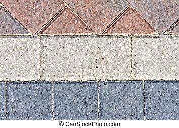 ブロック, pavior, 私道, 提示, 別, パターン