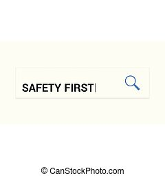 プライバシー, ガラス, 光学, 安全, 言葉, 拡大する, concept:, 最初に