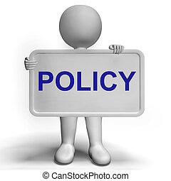 プライバシー, 戦略, 印, ショー, 会社, データ保護, 用語
