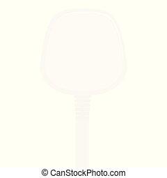 プラグ, illustration., 電気である, 。, ベクトル, イギリス, 白, アイコン, ソケット