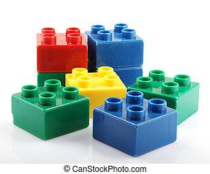 プラスチックブロック, 建物