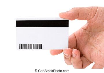 プラスチック, データ, カード, デジタル