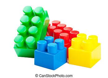 プラスチック, ブロック