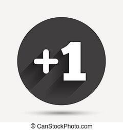 プラス, 1(人・つ), 印。, 付け加えなさい, 1(人・つ), シンボル。