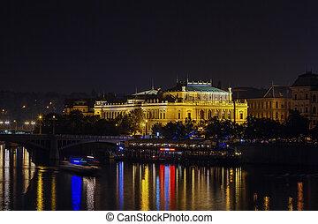 プラハ, rudolfinum, 光景