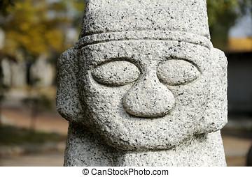 プリミティブ, 石, 像