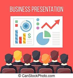 プレゼンテーション, ビジネス 実例