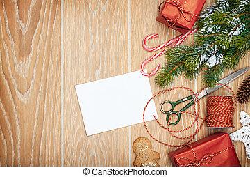 プレゼント, 包むこと, クリスマス