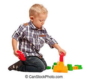 プレーしなさい, 建設, 子供