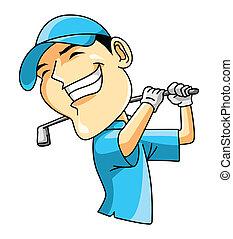 プレーヤー, ゴルフ