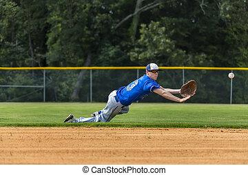 プレーヤー, ティーンエージャーの, 野球