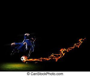 プレーヤー, フットボールボール