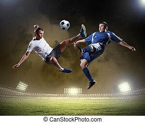プレーヤー, フットボール, 2
