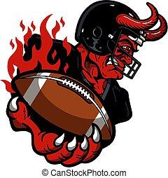 プレーヤー, 悪魔, フットボール