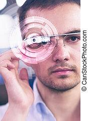 プログラマー, 未来派, ガラス