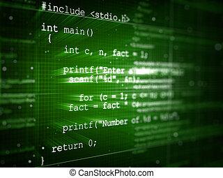 プログラム, コード