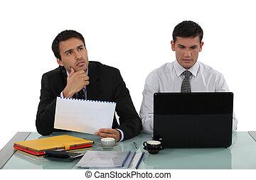 プロジェクト, 労働者, ビジネスマン