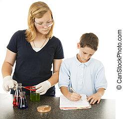 プロジェクト, 科学, 子供