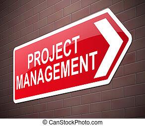 プロジェクト, concept., 管理