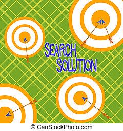プロセス, ラウンド, オブジェクト, 多色である, 執筆, solution., 問題, テキスト, 解決, 単語, design., ビジネス, 矢, 非対称的, 捜索しなさい, 形づくられた, ターゲット, 中, ∥あるいは∥, 概念, 見つけること, 行動