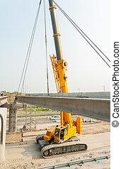 プロセス, 橋, 建設