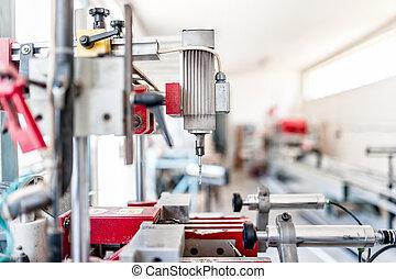プロセス, 機械類, 産業, ボーリングする, 自動