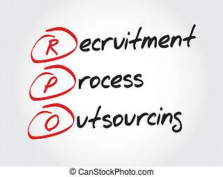 プロセス, 求人, outsourcing