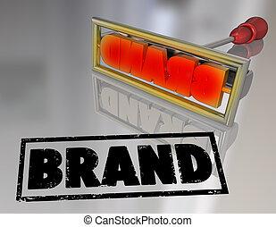 プロダクト, 単語, 鉄, 決め付けること, ブランド, 所有権, マーケティング