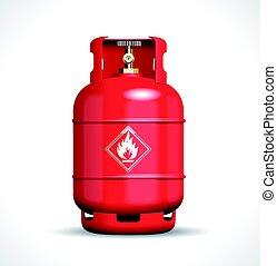 プロパン, ガス, flemmabe, びん