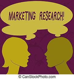 プロフィール, 共有される, sideview, 女 シルエット, サービス, bubble., プロセス, 写真, イメージ, 決定, viability, 印, 考え, research., テキスト, 概念, 新しい, マーケティング, 提示, 人