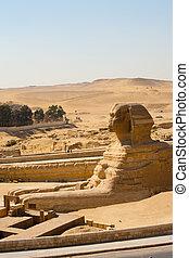 プロフィール, 大きい スフィンクス, フィート, 砂漠