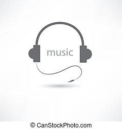 ヘッドホン, 音楽