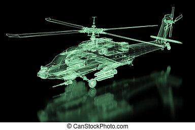 ヘリコプター, 噛み合いなさい