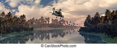 ヘリコプター, 戦争