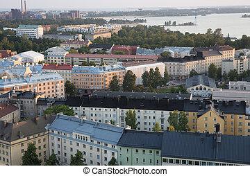 ヘルシンキ, 空中写真