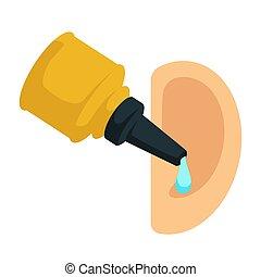 ヘルスケア, 薬, otitis, 耳, 待遇, 低下