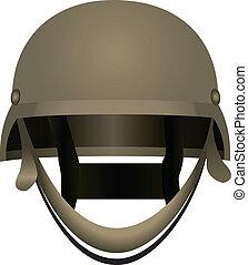 ヘルメット, 現代, 戦闘
