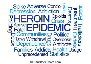 ヘロイン, 単語, 伝染病, 雲