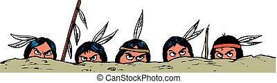 ベクトル, アメリカインディアン