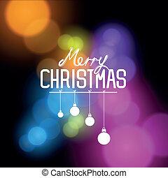 ベクトル, クリスマス, 陽気