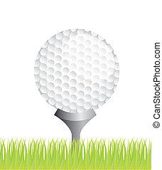 ベクトル, ゴルフ