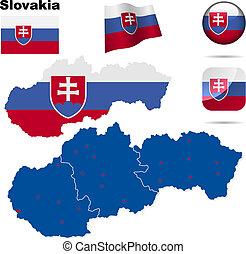 ベクトル, スロバキア, セット