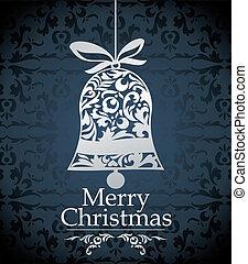 ベクトル, デザイン, クリスマス
