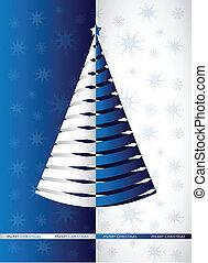 ベクトル, デザイン, クリスマス, 陽気