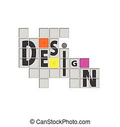 ベクトル, デザイン, 背景