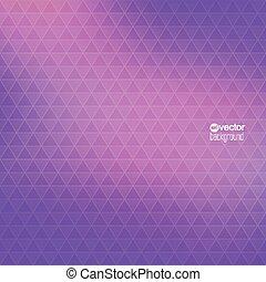 ベクトル, パターン, 背景, 抽象的, geometr, 三角形
